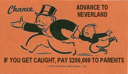 Novelty Monopoly Cards Advancetoneverland